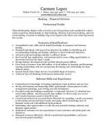Sample Personal Banker Resume banker resume sample senior personal banker resume sample personal