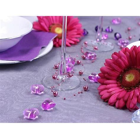 lila deko lila deko herzen acryl hochzeit