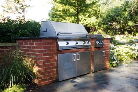 backyard grill chicago outdoor kitchen built in grill and fire pit