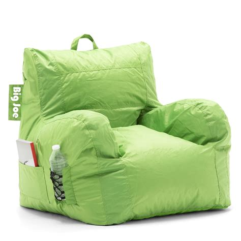 big joe chair bean bag chair big joe lime cozy waterproof seat