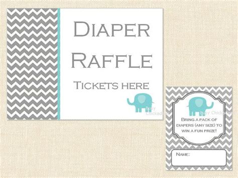 6 best images of printable raffle ticket sign free