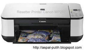cara resetter canon mp287 cara mereset printer canon mp287 software resetter