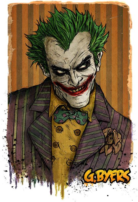 comic book joker pictures here are 15 of the creepiest and most badass pieces of