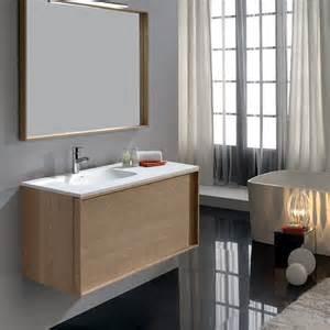 meuble salle de bain ch 234 ne 100 cm 1 tiroir plan