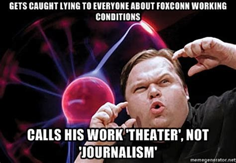Journalism Meme - this american life retracts mr daisey and the apple