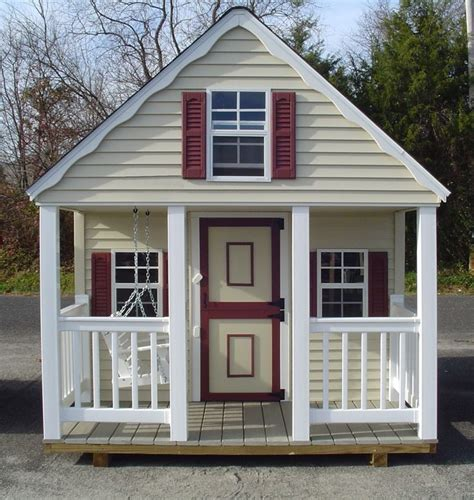 outdoor playhouse kids playhouses pinterest