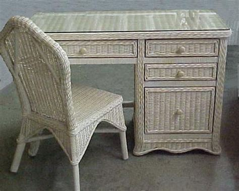 antique wicker desk and chair florentine wicker desk and chair set all about wicker