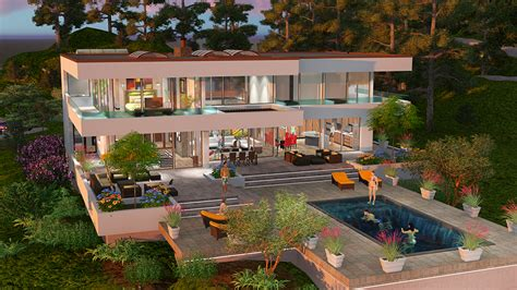 Dream Homes House Plans the beverly hills dream house project maintains the