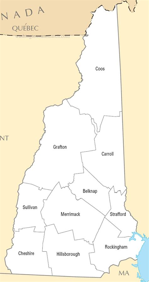 Nh Search Map Of Nh By County Pictures To Pin On Pinsdaddy