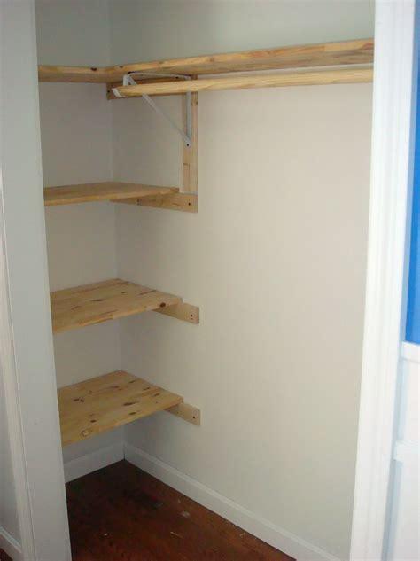 Diy Wardrobe Shelving by Diy Closet Shelving Ideas Home Design Ideas