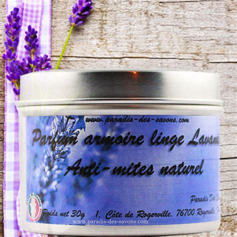 parfum armoire lavande anti mites naturel protection du linge