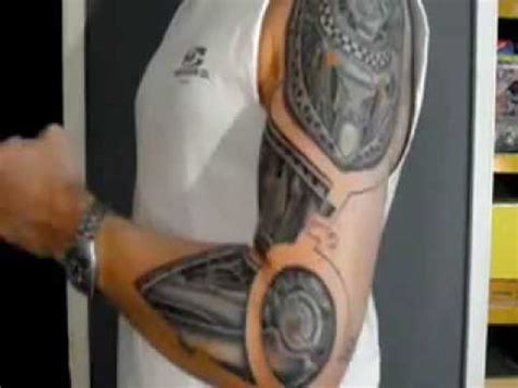 tattoo me now design robot arm tattoo youtube