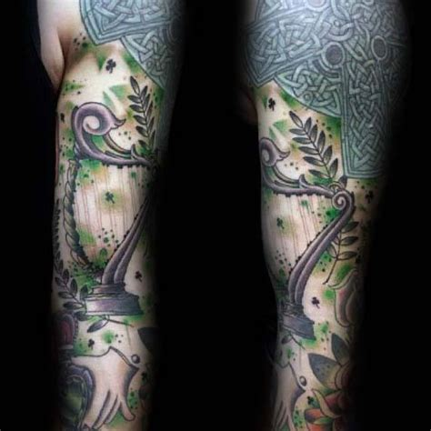 irish themed tattoo designs 70 tattoos for ireland inspired design ideas