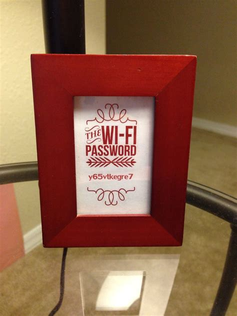 Wifi Password Courtesy Card Templates by Wifi Password Template Free Pictures To Pin On