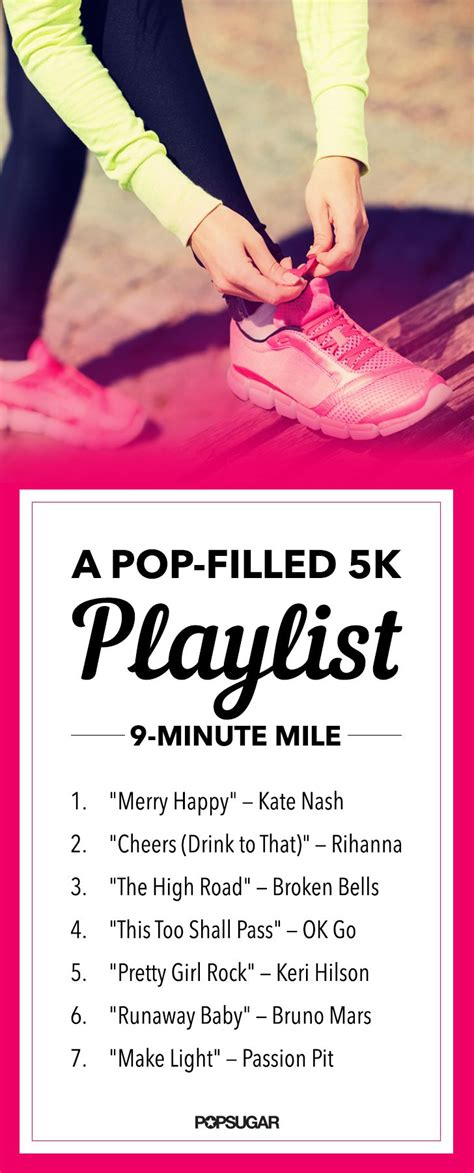 To 5k Playlist by A Pop Filled Playlist To Make Your Next Race Even Better