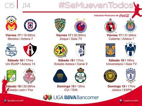 Calendario Liga Mx Chivas Clausura 2015 Partidos De La Jornada 14 Clausura 2015 En La Liga Mx