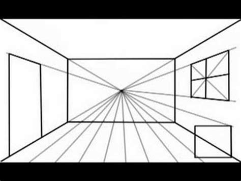 draw a room how to draw with one point perspective option1 youtube