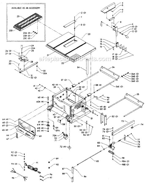 delta 36 285 parts list and diagram type 1