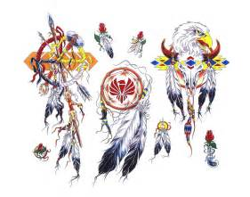 Free native american symbol tattoo flash real photo pictures images