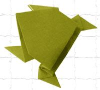 Origami Paper India - origami frog how to make origami frog craft