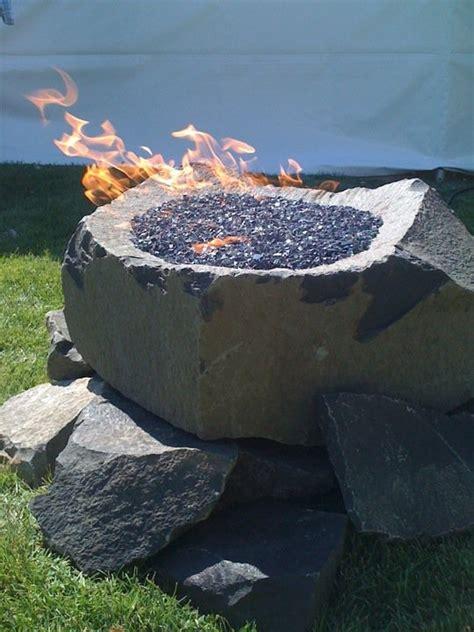 Firepit Rocks Rock Firepit By Herke Rock Gardening