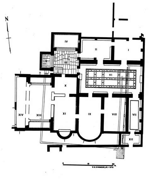 roman bath house floor plan bath plan