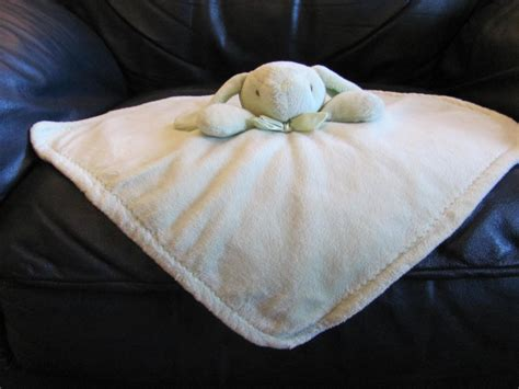 Blankets And Beyond Green by Blankets And Beyond Green Bunny Rabbit Fleece Security
