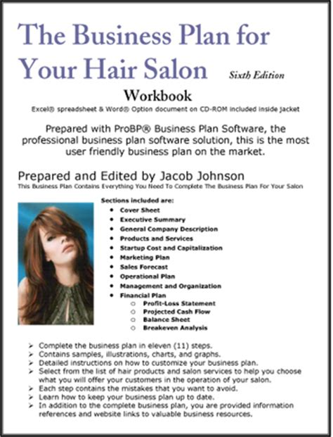 Hair Accessories Business Plan by The Business Plan For Your Hair Salon