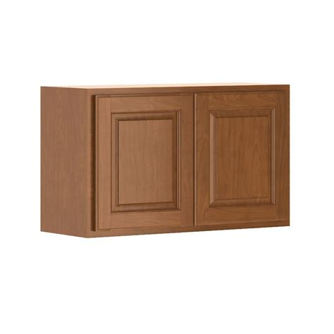 hton bay cognac cabinets hton bay madison assembled 30x18x12 in wall bridge