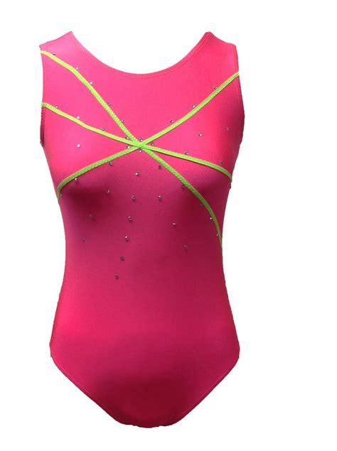 pink gymnastics leotard ebay