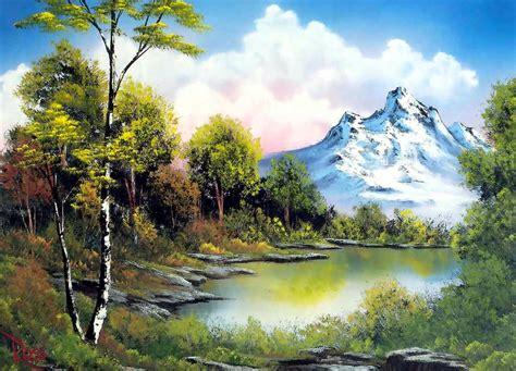 cuadros al oleo de paisajes cuadros modernos pinturas y dibujos naturaleza verde