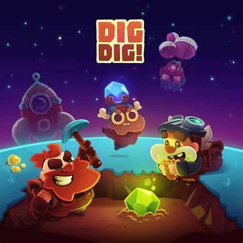 dig dig on behance