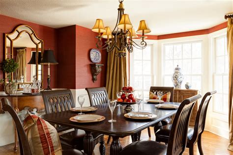 ideas dining room decor home fall dining room table decorating ideas with traditional