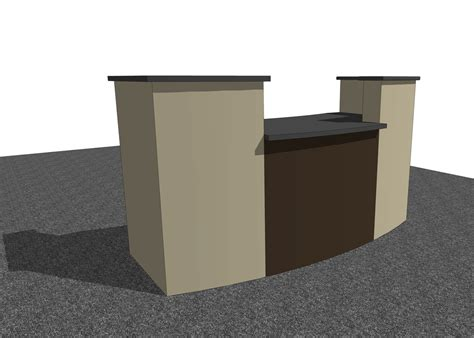 Free Reception Desk Ag Cad Designs Free Sketchup Models Dwg Cad Files For Architectural Interior