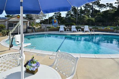 comfort inn monterey by the sea outdoor heated pool picture of comfort inn monterey by