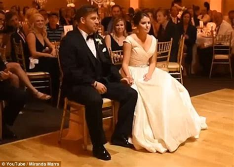 groom leaves his bride stunned with a surprise michael this groom has audience in hysterics with his saucy dance