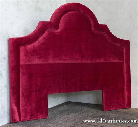 red velvet headboard red velvet headboard for sale at 1stdibs