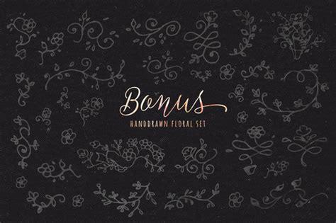 Set Delisa Flower best custom fonts and graphics the fancy deal