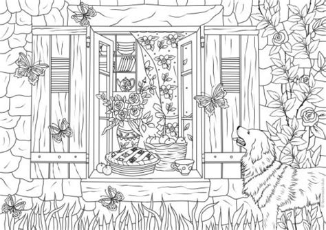 spring house coloring pages home printable adult coloring pages from favoreads