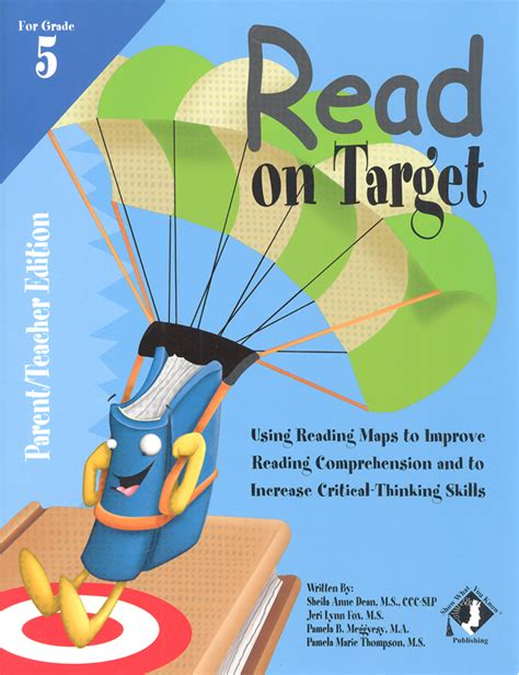 libro target grade 5 reading read on target grade 5 parent teacher 009964 details rainbow resource center inc