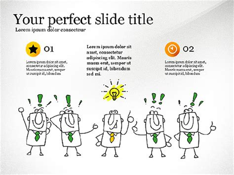 doodle presentations idea development doodles presentation template for