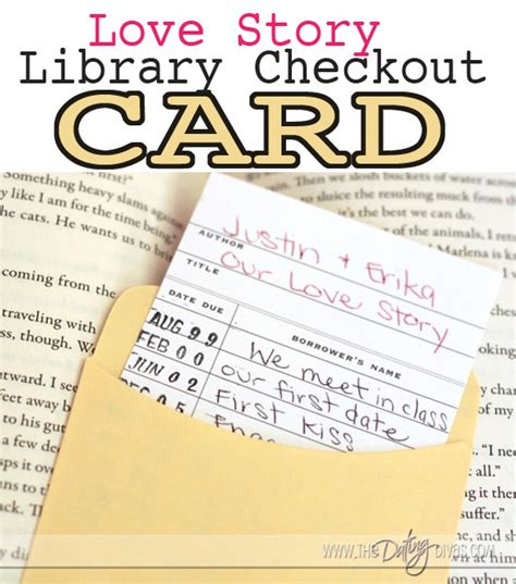 how to make library card library checkout card