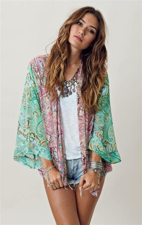 kimono jackets as a summer fashion trend for women over 60 summer kimono cardigan girlbelieve
