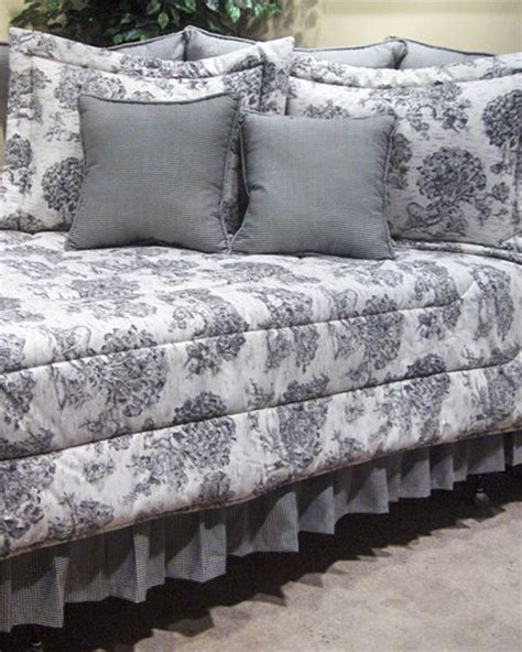 toile comforter set 17 best images about toile bedding on pinterest indigo