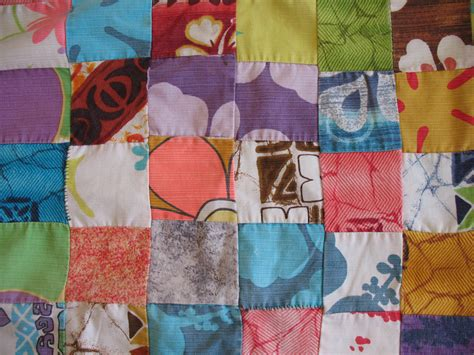 Patchwork Wiki - file vintage aloha shirt quilt jpg wikimedia commons