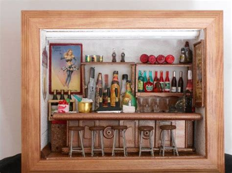 Shadow Box Bar Top by 51 Best Shadow Boxes Images On Dioramas Shadow Box And Shadows