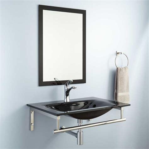 wall mount glass sink best 25 glass sink ideas on glass bathroom