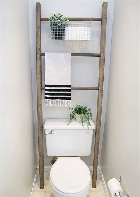 over the toilet ladder 100 room makeover introducing the master bathroom
