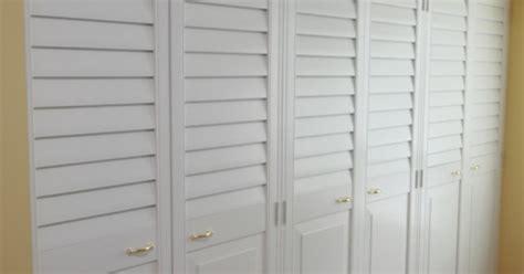 Painting Louvered Closet Doors Louvered Closet Doors In Burlington Oakville Toronto Canada Custom Shutters