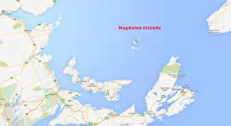 the magdalen islands are surrounded by all the atlantic
